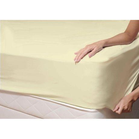 Чисто нов чаршаф с ластик