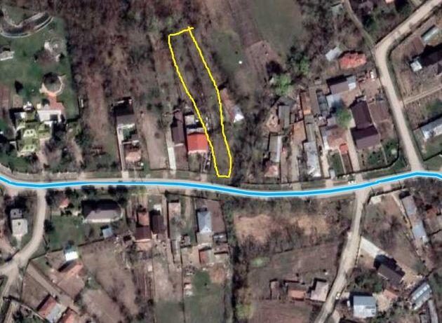 1.000 m.p teren intravilan, str. Principală 69, Crevedia sat Cocani