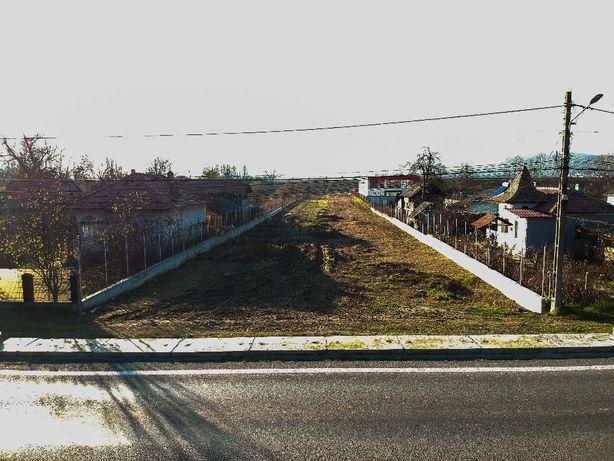 Teren pe DN7 - Calea Bucuresti - Goranu, Rm.Valcea - la strada princi