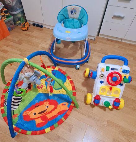 Saltea activitati, antepremergator si premergător pentru copii
