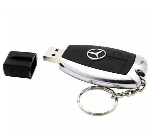 USB FLASH 16 GB Mercedes флашка ключ за Мерцедес подходяща за подарък