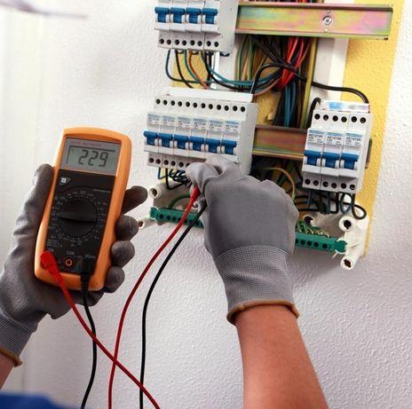Electrician autorizat, reparatii instalatii electrice non-stop Ilfov