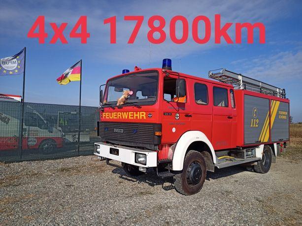 Mașina de Pompieri 18000 km iveco Psi Autospeciala 2100 Litri 4x4