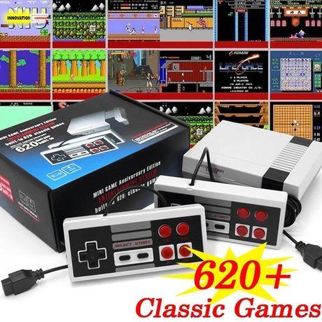 Ново!Ретро ТВ игра/конзола тип Nintendo +два Джойстика + 600 игри, нин