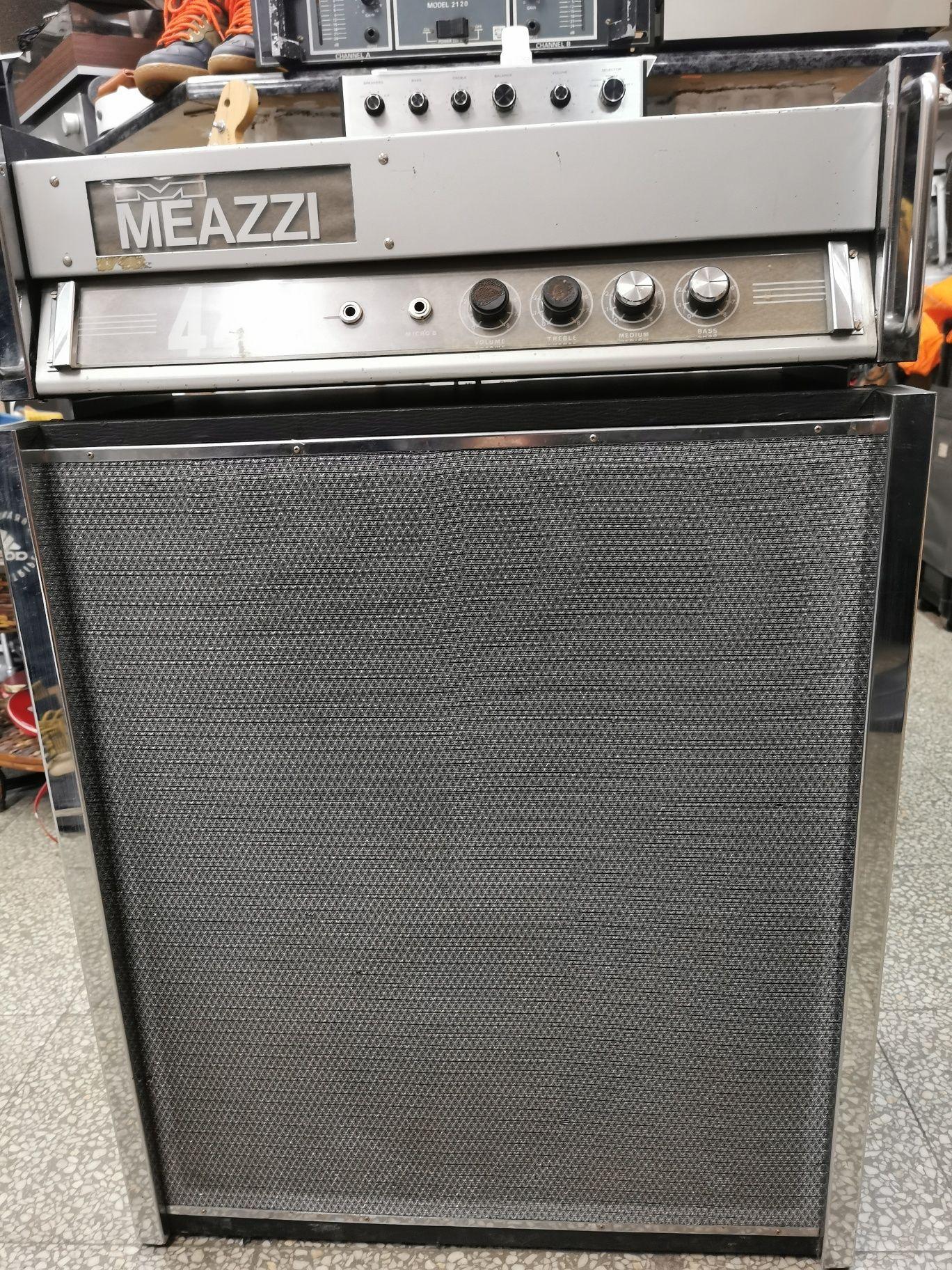 Кубе-миксер, усилвател,колона за китара,клавир Meazzi 444