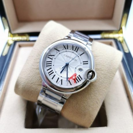 Cartier Balon Bleu 42MM Silver