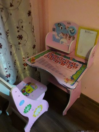 Birou copii  roz