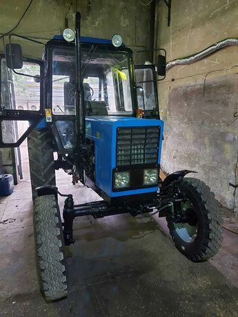 МТЗ 80 трактор после кап. ремонта.