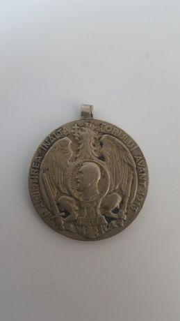 Medalie argint Din Carpati peste Dunare la Balcani 1913