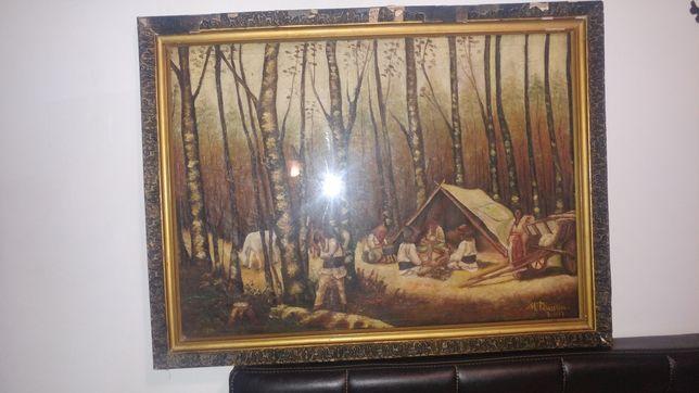 Tablou pictura M Tănăsescu