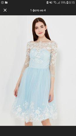 Воздушное брендовое платье