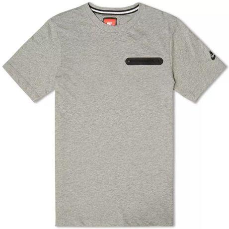 Nike Tech Fleece Glory Pocket T-Shirt Men's Gray