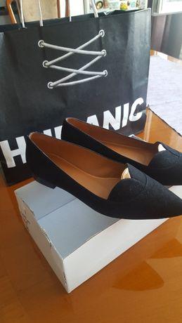 Обувки естествен велур 37 номер