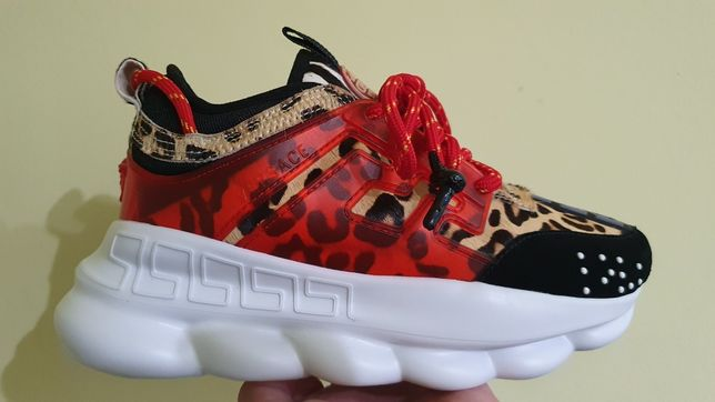 Sneakers Versace Chain-Reaction NEW collection
