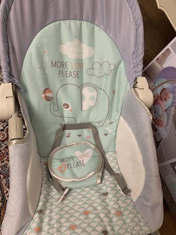 Шезлонг детский (гамак кресло -качалка)