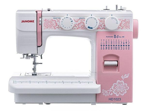 Швейная машинка JANOME HD1023. В рассрочку по 4100 в месяц 0-0-24