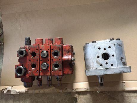 Distribuitor hidraulic + pompa ifron