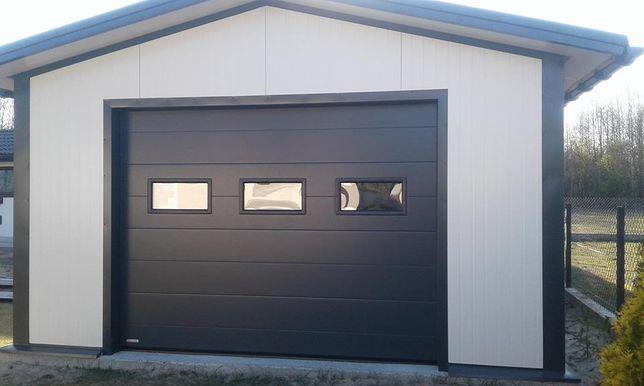 Usi de garaj sectionale izolate culoarea Antracit 2850L/2890H