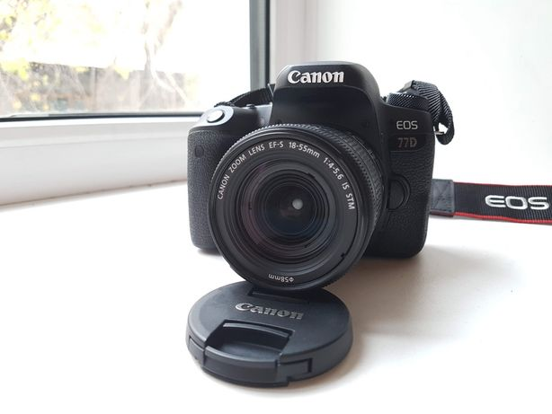 Canon EOS 77D Kit (EF-S 18-55mm f/4-5.6 IS STM)