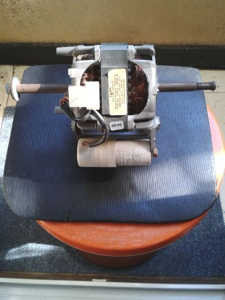 Мотор за сушилня Горение