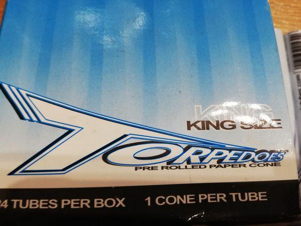 Foite prerulate Torpedoes, Cones supersized,Tobacones