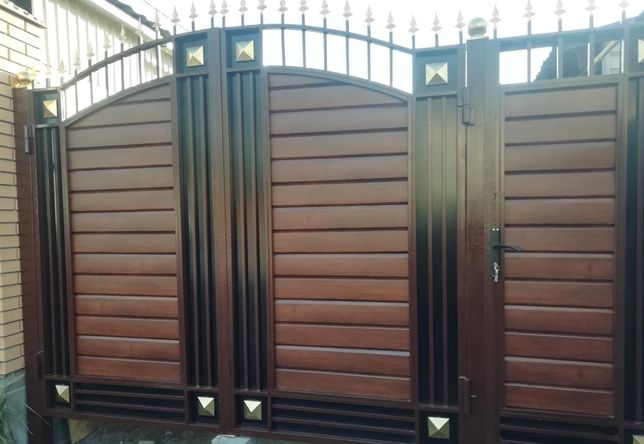 Ворота в Алматы! Распашные , кованые и другие. Гарантия качества!