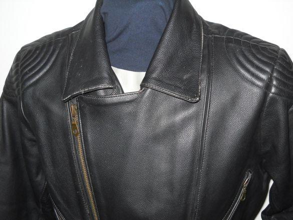 Марково рокерско,яке от естествена кожа-М и L размер.Мото яке.