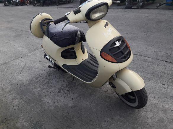 Мотоциклет,скутер Малагути Иестъдей(Malaguti Yesterday) 50 на части