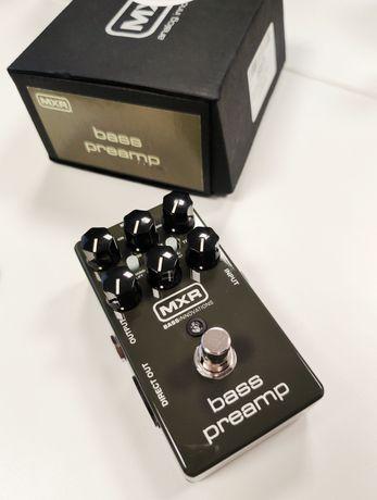 Педаль MXR M81 Bass preamp. Преамп для бас-гитары