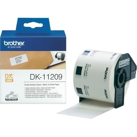 Етикети Brother DK-11209 800 етикета 29mmx62mm Small Paper Labels Brot