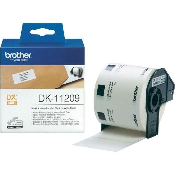 Етикети Brother DK-11209 800 етикета 29mmx62mm Small Paper Labels Brot гр. София - image 1
