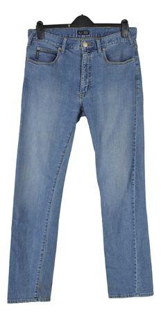 Blugi Barbati Armani Jeans Marimea W32 L32 Albastru din Bumbac BE18