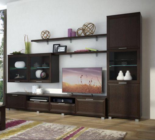 Стенка Бона современная цвет Венге  в гостиную