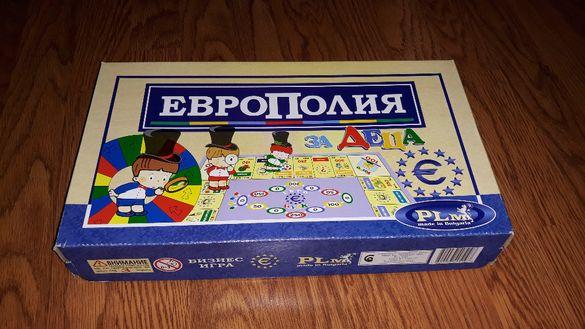 """Настолна игра """"Европолия за деца"""""""