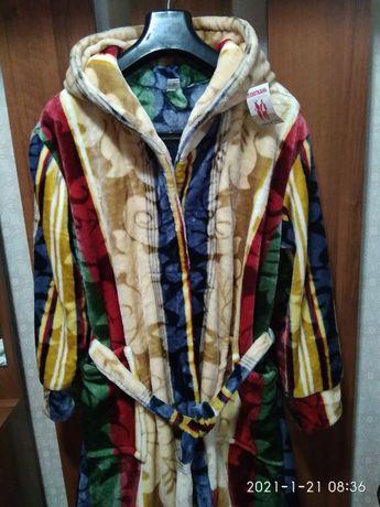 Стильный халат новый