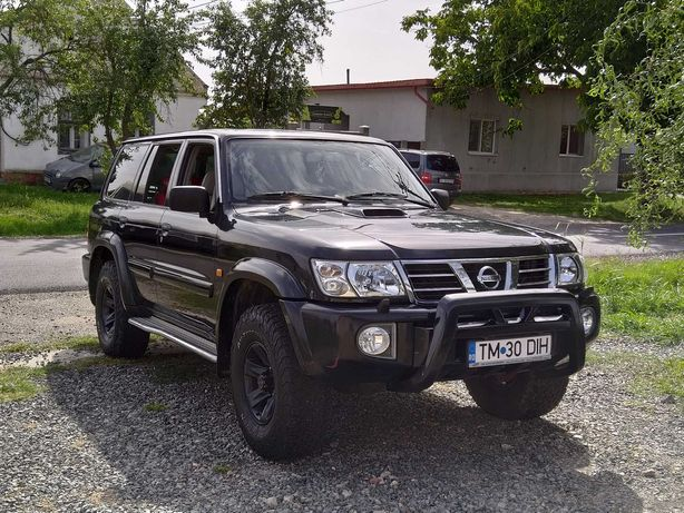 Nissan Patrol 3.0 2004 intretinut, 202 000 km