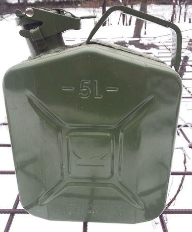 Canistra metalica combustibil Viking 5 Litri