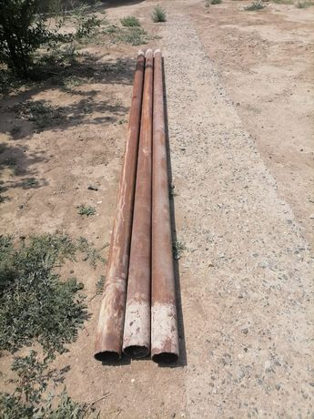 Трубы диаметр 110 мм толщина 5мм длина 5 метр 1шт 18500 тг. 13 шт бар