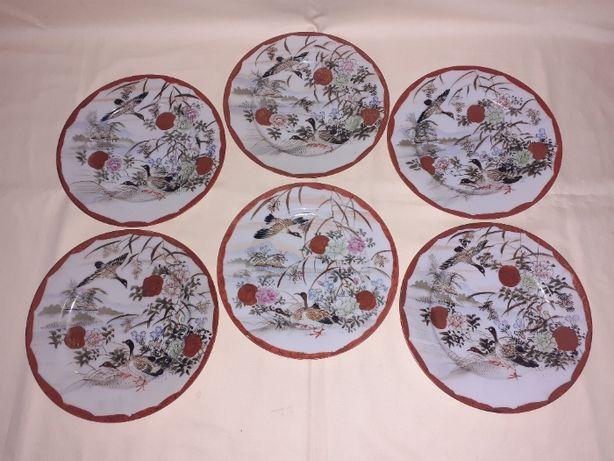 set 6 farfurii portelan japonez