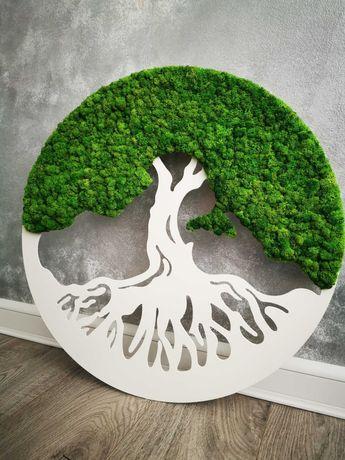 Arborele vieții cu licheni