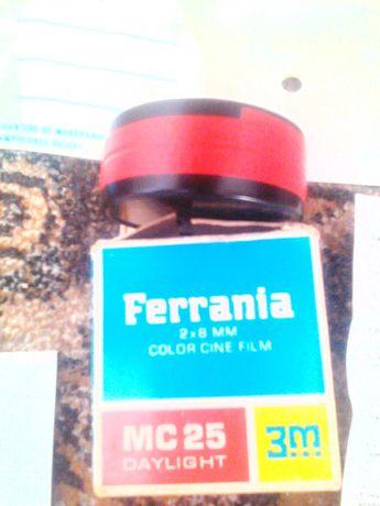 Film color cinefilm, Ferrania 2X7 mn, nou