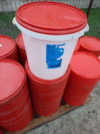 Galeti de plastic cu capac ermetic 35 litri