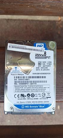 Продам HDD диск 500gb