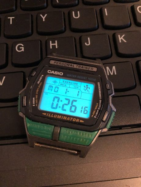 Ceas electronic Casio Personal Trainer JC 30 1643