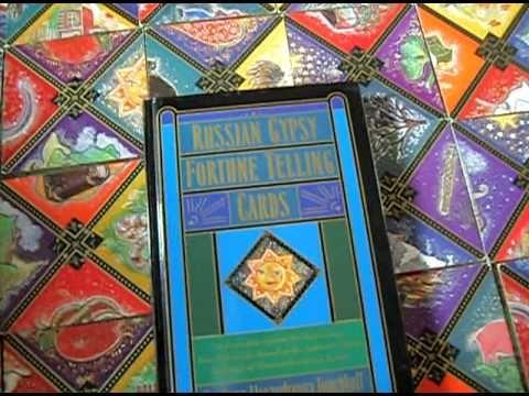 INEDIT!Carti ORACOL RUSESC Tiganesc stil vechi/Tarot gen PUZZLE-SIG+ca