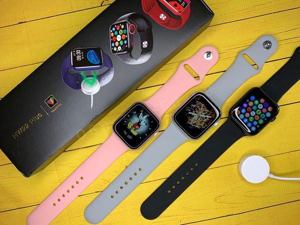 НОВИНКА! HW22 Plus Smart Watch 6 с БЕСПРОВОДНОЙ зарядкой! ТОП M26 +
