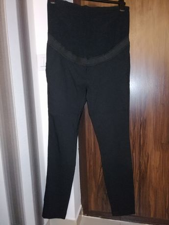 Pantaloni de gravide croiala conica Bonprix noi