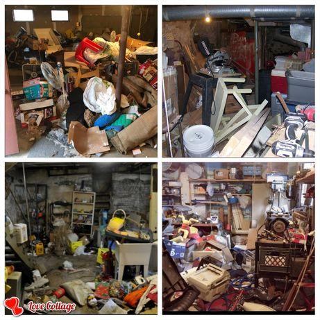 Почистване на къщи вили дворове гаражи мазета тавански стаи  и мн др