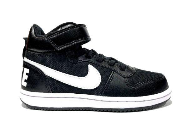 Nike Court Borough Mid | CI2360 001 | Оригинални детски кецове