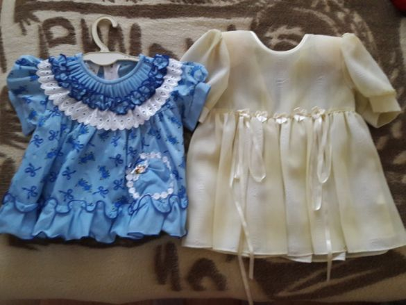 Две рокли за момиченце